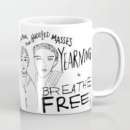 Ellis Island Freedom Coffee Mug