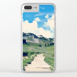 Up Mount Rainier Clear iPhone Case