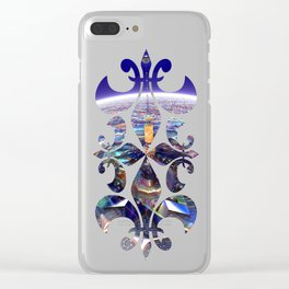 Big Top At Night Clear iPhone Case