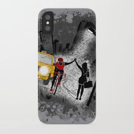 Hailing A High Five iPhone Case