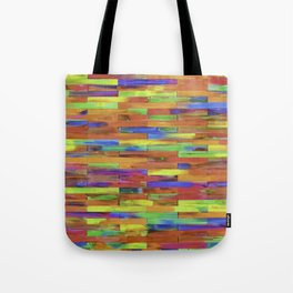 Fluorescent Mixed Abstract  Tote Bag