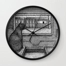 Serendipity I Wall Clock