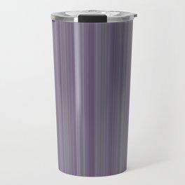 Purple Pantone Modern Stripes Travel Mug