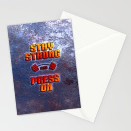 Stay Strong Stationery Cards