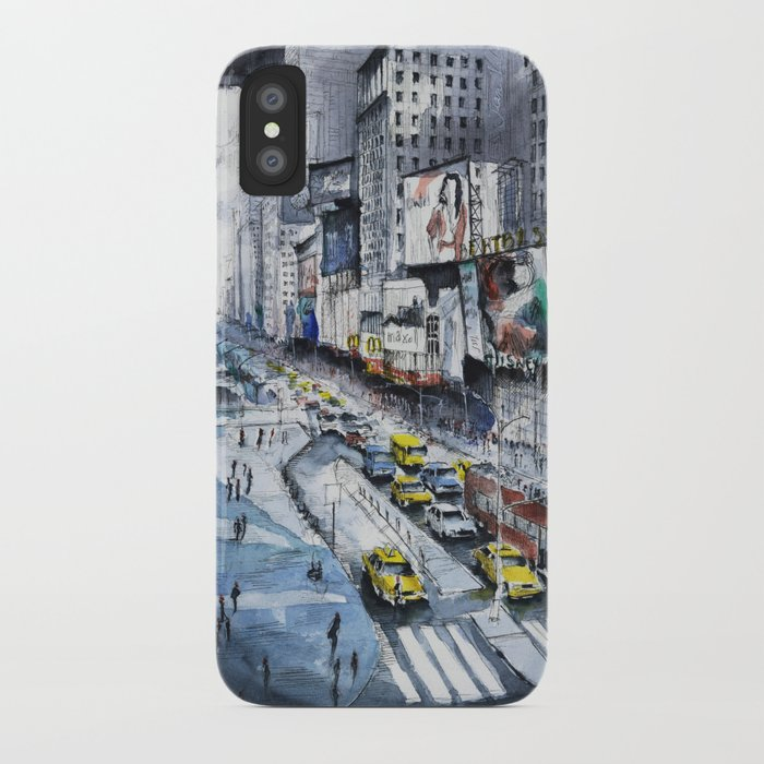 Time square - New York City iPhone Case