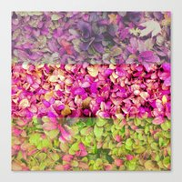 psychadelic Canvas Prints featuring Psychadelic Succulents by Hithere22