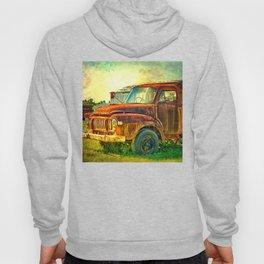 Old Rusty Bedford Truck Hoody