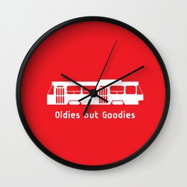 Oldies but Goodies - Streetcar, Toronto, ON, Canada Wall Clock