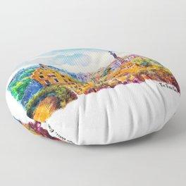 Park Guell Barcelona Floor Pillow