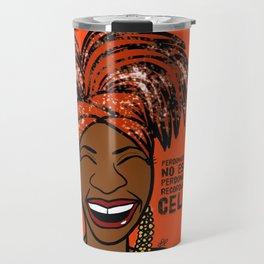 La Reina Celia Cruz Travel Mug