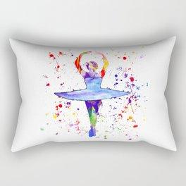 Ballet Dancer Rectangular Pillow