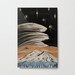 Shasta Cosmos Metal Print