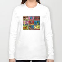 keith haring Long Sleeve T-shirts featuring Haring - étoiles W. by Krikoui