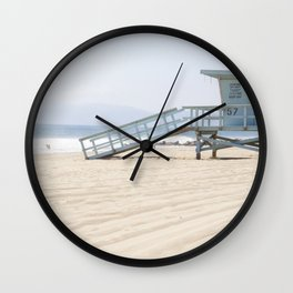 Los Angeles Beach USA Wall Clock