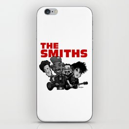 The Smiths (white version) iPhone Skin
