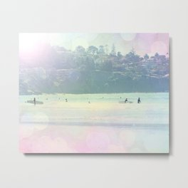 Bright Surfin 3 Metal Print