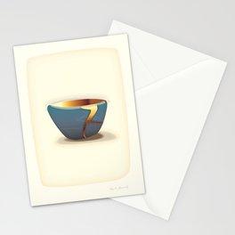 Kintsugi Gold Stationery Cards