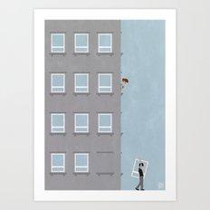 Fake Art Print