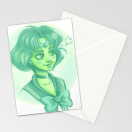 Sailor Mercury Stationery Cards