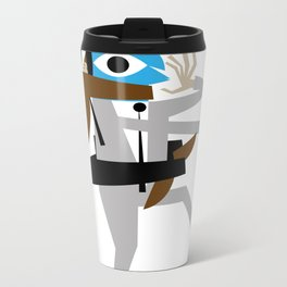 Business Brawl - The Sleeper Metal Travel Mug