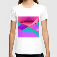 computer T-shirts featuring Computer Dreams by Blank & Vøid