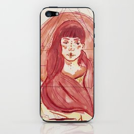 Pink::. iPhone Skin