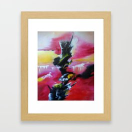 Magical Waterfalls Framed Art Print
