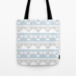 The blue lace . Tote Bag