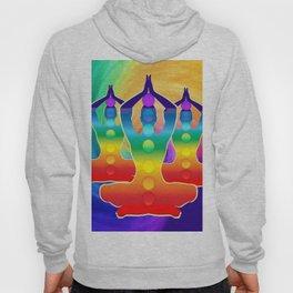 TRIPLE Om Meditation Mantra Chanting DESIGN Hoody