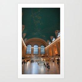 Grand Central Ceiling ∆ Art Print