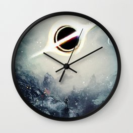 Interstellar Inspired Fictional Sci-Fi Teaser Movie Poster Wall Clock