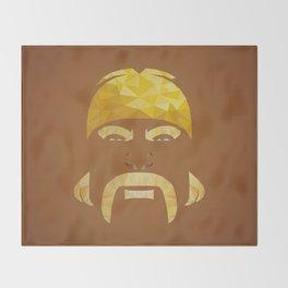 Mr. Hogan Throw Blanket