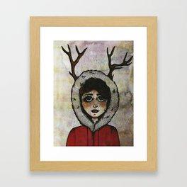 Miss Deary Framed Art Print