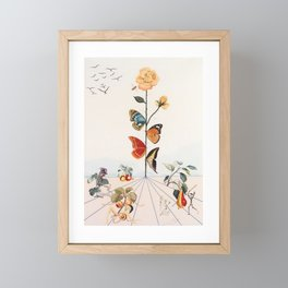 Salvador Dali Framed Mini Art Print