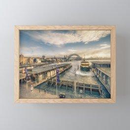 Circular Quay, Sydney Framed Mini Art Print