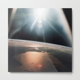 Apollo 7 - Florida Peninsula Metal Print
