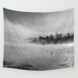 lifting mist Wall Tapestry