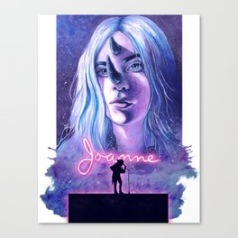 Call Me Joanne Canvas Print