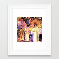 angels Framed Art Prints featuring Angels by Saundra Myles