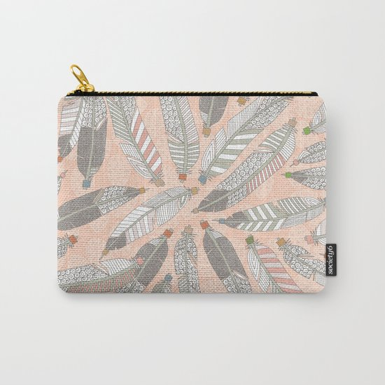 desert feathers Carry-All Pouch