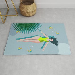 Relax, Recharge and Reflect. Rug