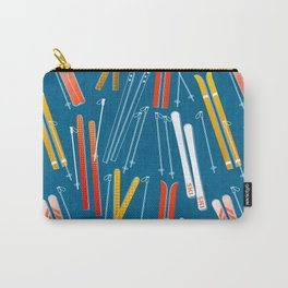 Colorful Ski Pattern Carry-All Pouch