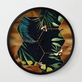 Bee Green Wall Clock
