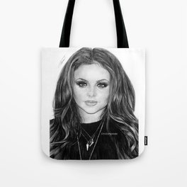 Jesy Nelson Drawing Tote Bag