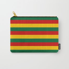 lithuania benin burkina faso flag stripes Carry-All Pouch