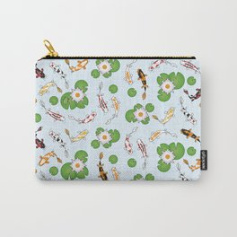 The Koi Pond (Tile Pattern) Carry-All Pouch