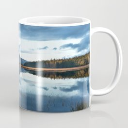 Reflection. Mount Errigal. Ireland Coffee Mug