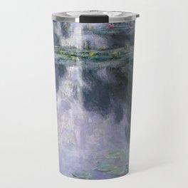 Water Lilies (Nymphéas) Travel Mug