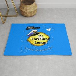 The Travelling Lemon Rug