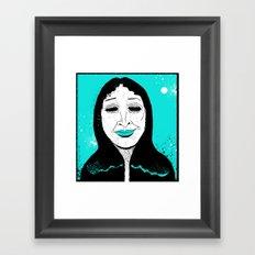 She's Got…Hungry Eyes… Framed Art Print
